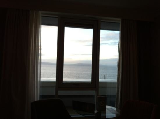 The Salthill Hotel: view from room