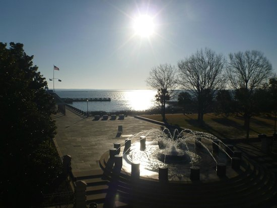 Harbourview Inn: View from the room