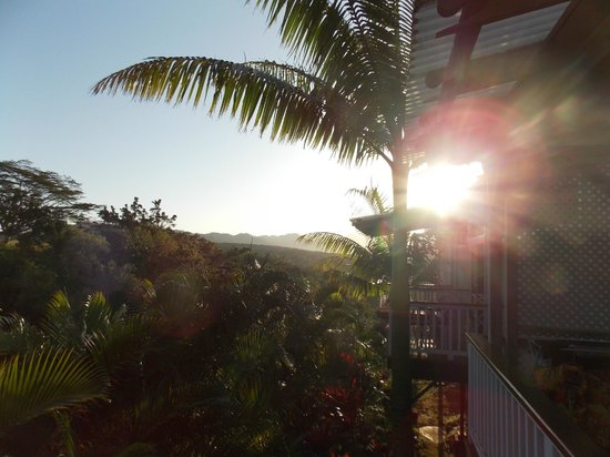 Lawai, Hawái: Morning on the KOA suite lanai