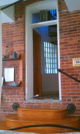 Lockeford, : Water Tower door to the 2nd floor and to the restroom