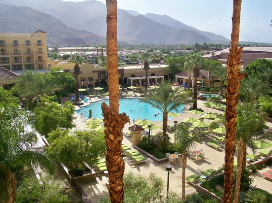 Renaissance Palm Springs Hotel: View from room