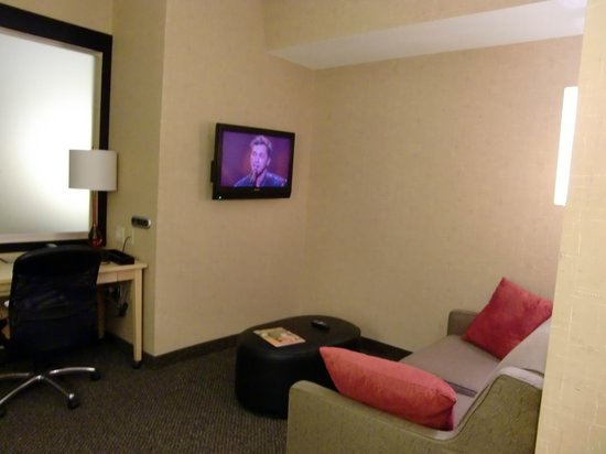 DoubleTree by Hilton Hotel Baton Rouge: Living room area