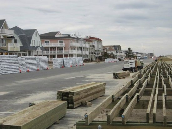 Belmar,  : Less than 60 yards from Belmar Inn, The Boardwalk