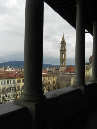 Hotel Palazzo Guadagni: View from the bar