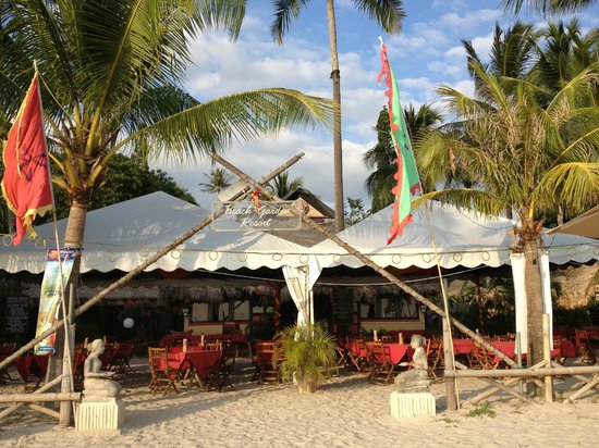 Beach Garden Resort: The restaurant