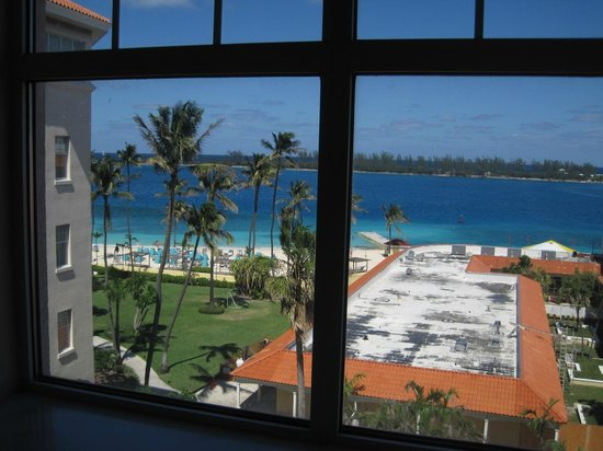 British Colonial Hilton Nassau: View from the room (Looking slightly left)
