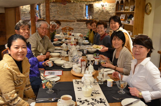 Pembridge, UK: Japanese meet English breakfast