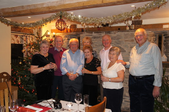 Pembridge, UK: Christmas Work Party at Lowe Farm