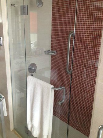 Doubletree by Hilton San Juan: Shower was beautiful.