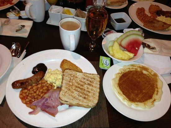 Breakfast at the Hilton Glasgow