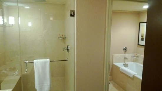 Hotel 71, Wyndham Affiliate: Bathroom.