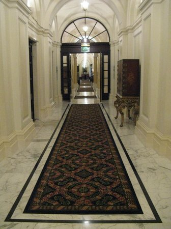 Charing Cross: Business meeting rooms hallway.
