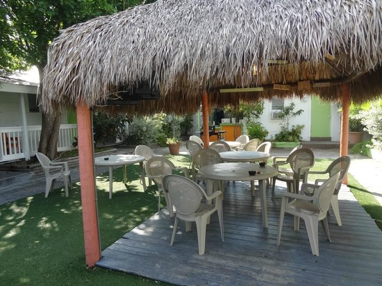 Key West Youth Hostel &amp; Seashell Motel: Patio