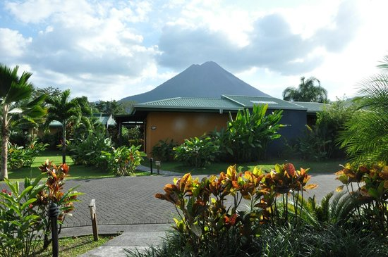 Arenal Manoa Hotel & Spa: View from our hotel room terrace