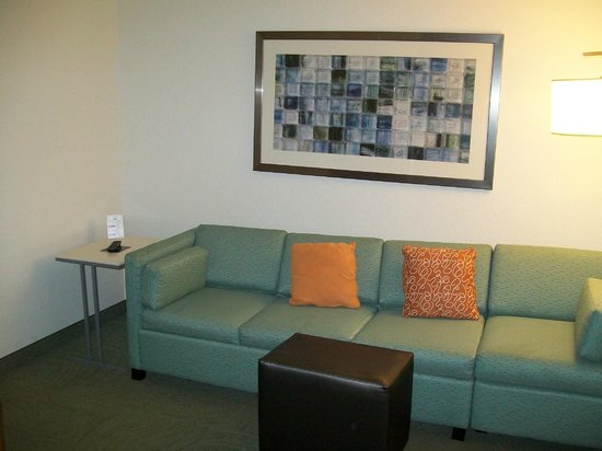 SpringHill Suites Orlando Convention Center: Sofa/Sofa Bed in the suite
