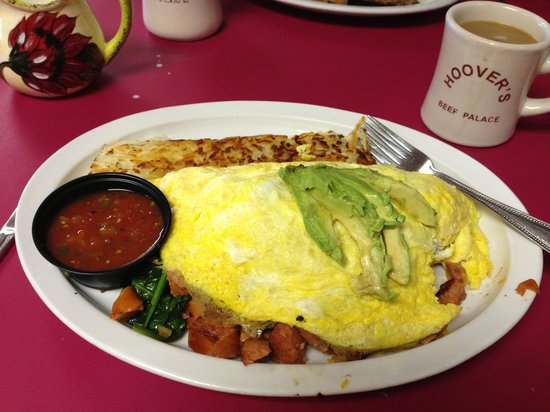 Templeton, Californien: special omelette