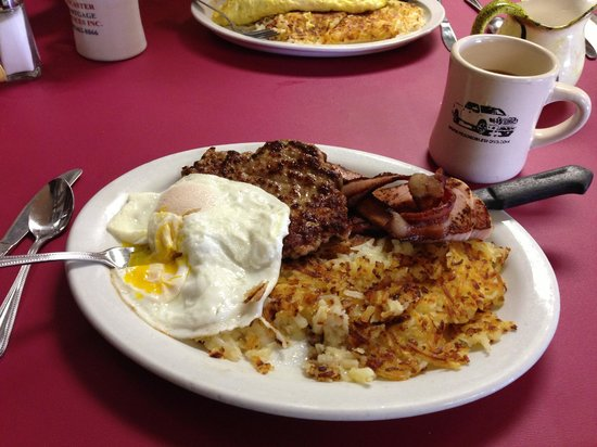 Templeton, Californien: breakfast combo