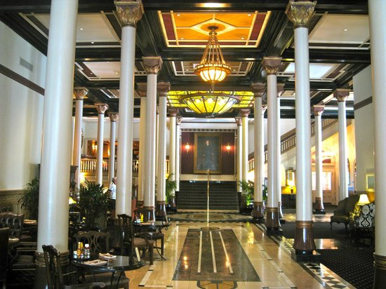The Lobby of the Driskill Hotel