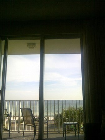Majestic Sun at Seascape Resort: View from the couch!