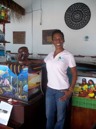 Silver Seas Resort Hotel: Donna Denny ..a great new addition to the SS's staff