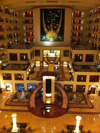 The LaLiT Mumbai: arcade view from 5th floor