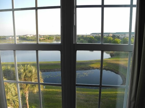 Holiday Inn Sarasota - Lakewood Ranch: Blick Richtung See