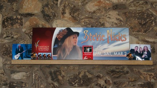 Fantasy Springs Resort Casino: My Pictures of Stevie Nicks
