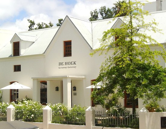 De Hoek Manor: Situated in the historic centre of the university town of Stellenbosch,