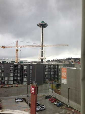 Hyatt Place Seattle/Downtown: our room view