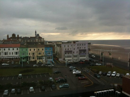 Room View From 6th Floor Picture Of Hilton Blackpool Hotel Blackpool Tripadvisor