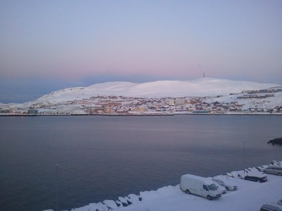 Rica Hotel Hammerfest: Blue time turns to pink