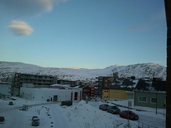 Rica Hotel Hammerfest: View towards center of town