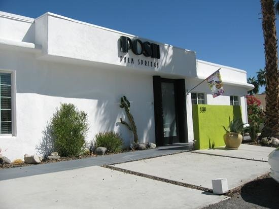 POSH Palm Springs Inn : Welcome to POSH... 