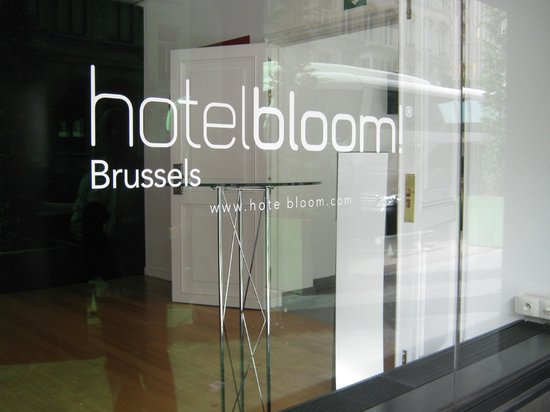 Hotel BLOOM!: Hotel Bloom window