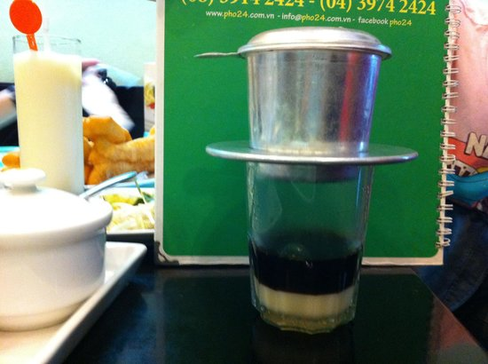 Asian Ruby Hotel Hanoi: Coffee u must try