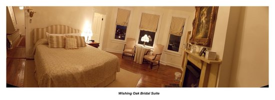 Freemason Inn Bed &amp; Breakfast: Wishing Oak Bridal Suite