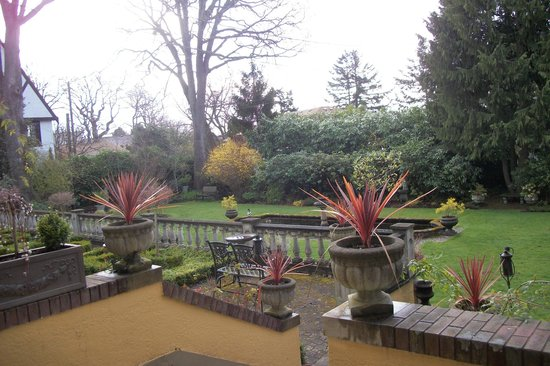 Villa Marco Polo  Inn: A View of the Garden
