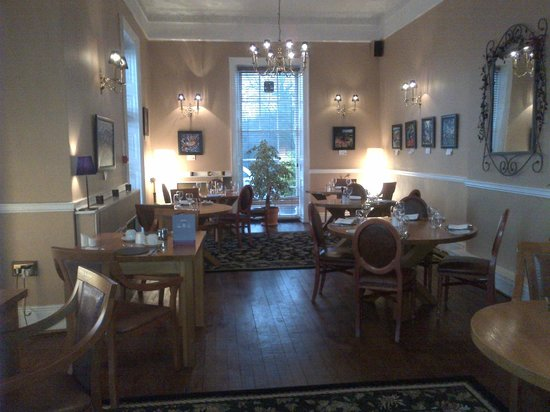 Crickhowell, UK: Dining room