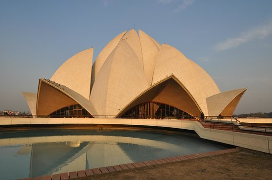 Pictures of Bahai Lotus Temple - Attraction Photos