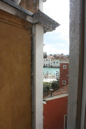 Hotel Dei Dragomanni: View from our room (which was not a canal view room... but we could see it!)