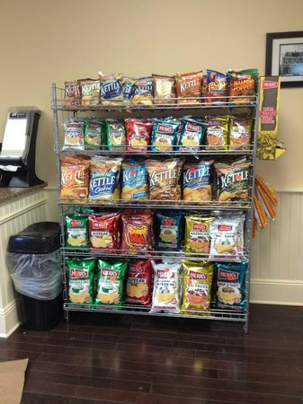 Chester, NJ: Chips! To go with your sandwich.