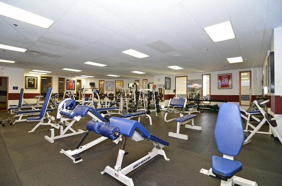 BEST WESTERN PLUS of Johnson City: Weight Training Room
