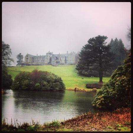 Bovey Castle Hotel: Bovey Castle can't help the rain!