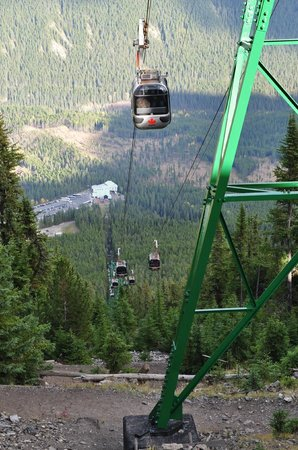 Rimrock Resort Hotel: Gondola within walking distance from hotel
