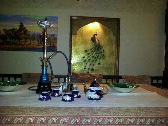 the uzbek dining area picture of atlas house restaurant