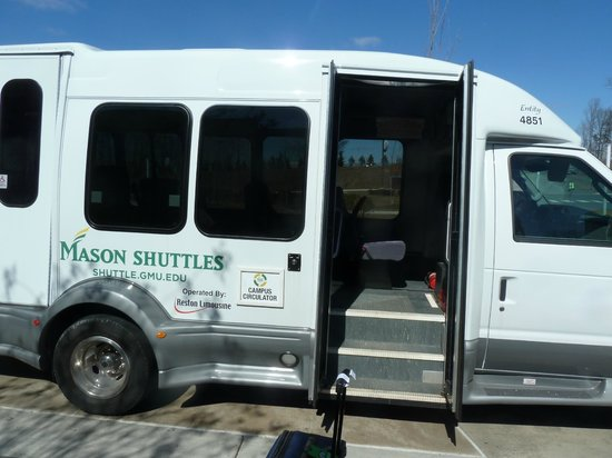 The Mason Inn Conference Center & Hotel: The George Mason Shuttle- really only suitable for students