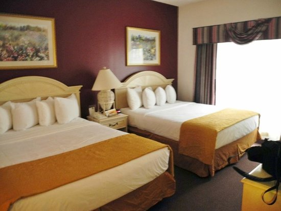 Quality Suites Lake Buena Vista: 2 Doppelbetten