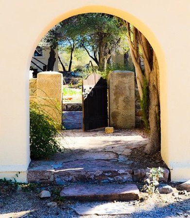Oracle, AZ: Gate to Ranch Garden