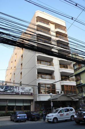 Hotel Front Picture Of City Garden Suites Manila