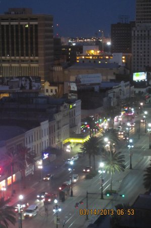 Crowne Plaza Hotel Astor-New Orleans: The view from room 1309 - our last morning - we didn't want to leave.